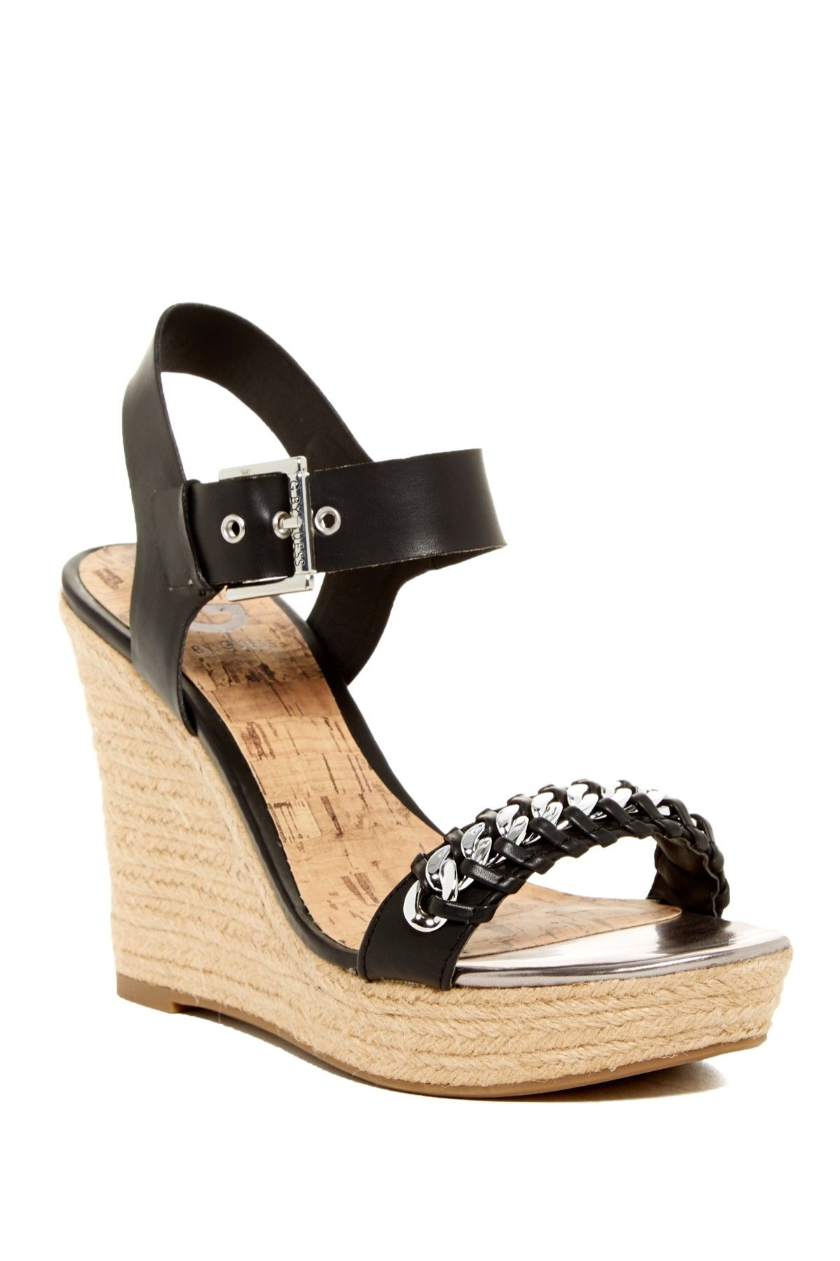 6f23d1866ff913 Elliot Espadrille Wedge Sandal by G by GUESS on  HauteLook
