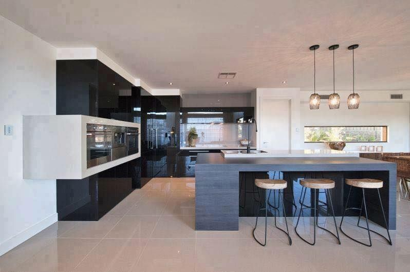 Latest Kitchen Decor  Small Kitchen Interiors Modern Kitchen Stunning Small Kitchen Interior Design Review