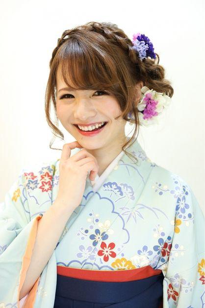 袴 髪型 ミディアム 袴 髪型 : pinterest.com