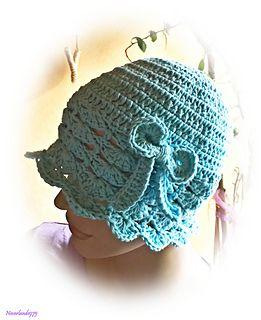 Ravelry: Violet Flower Summer Hat pattern by Chiara Inzani
