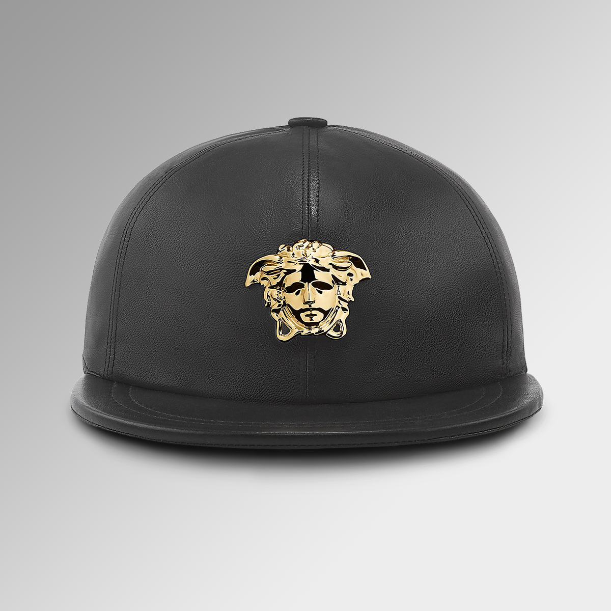 3a10ff74d Define your bold attitude with this #Medusa cap. Get more #Versace leather  goods on versace.com