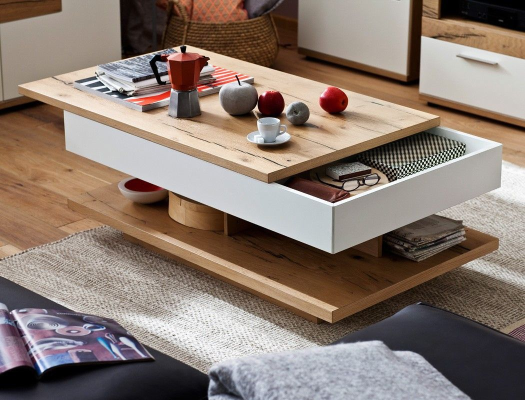 50 Nouveau Couchtisch Weiss Eiche Images In 2020 Coffee Table