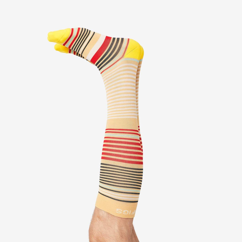 yellow Compression socks mens, Compression socks, Socks