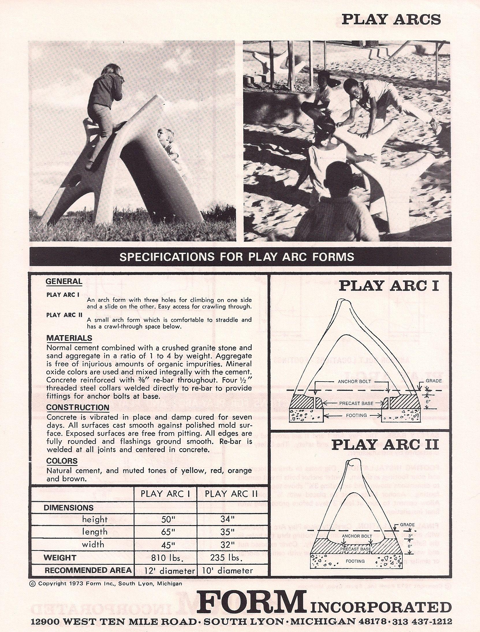 Resultado de imagen de play sculpture jim miller play arcs