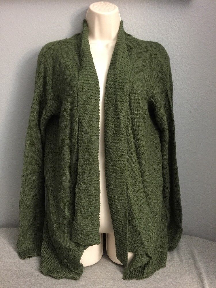 60765aa3ff2a26 NWT Juniors MUDD Forest Green Knit Cardigan Sweater Size Medium #fashion  #clothing #shoes #accessories #womensclothing #sweaters (ebay link)