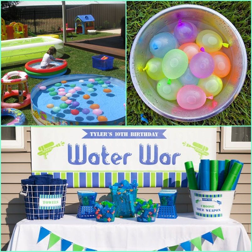 Water Play Date Ideas