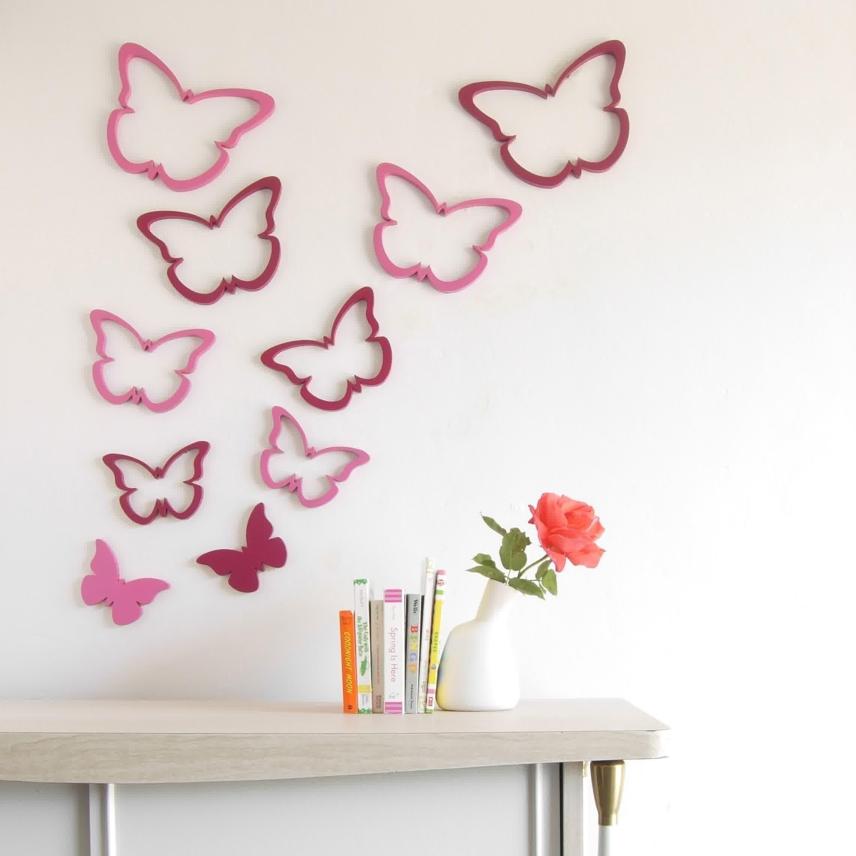 Kreative Schmetterlinge Papier Handwerk Wand Dekorationen #Badezimmer  #Büromöbel #Couchtisch #Deko Ideen #