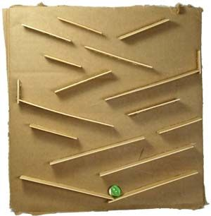 Tacky Living Marble Maze Craft Stick Crafts Marble Maze Marble Run