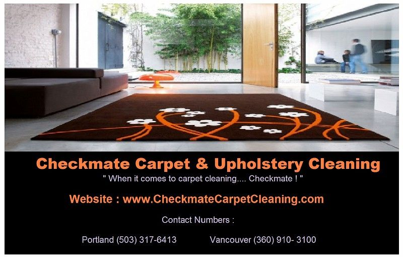 Checkmate Carpet Cleaning Provides Top Rated Upholstery