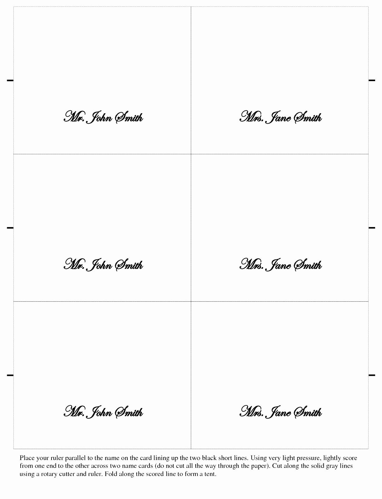 Place Cards Templates 6 Per Sheet Luxury 9 Place Card Template Word 6 Per Sheet Puiwy Wedding Place Card Templates Free Place Card Template Place Card Template