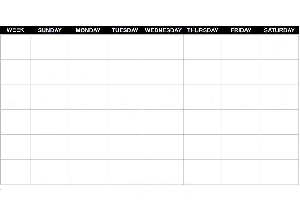 Blank Calendar Template Word Blankcalendar Template Blank Calendar Template Calendar Template Blank Calendar