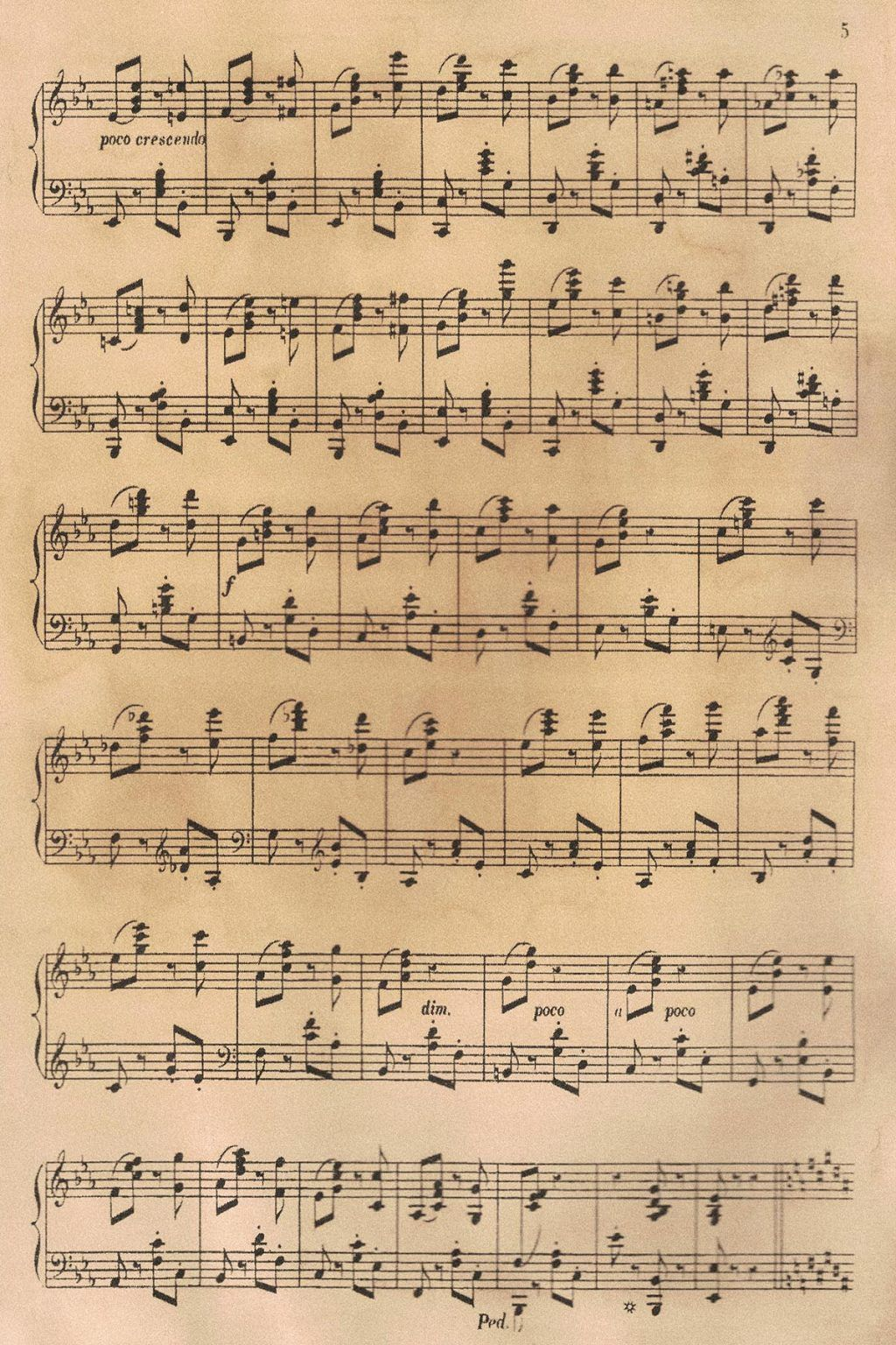 Free Printable Vintage Sheet Music [With Digital Collage Sheets]