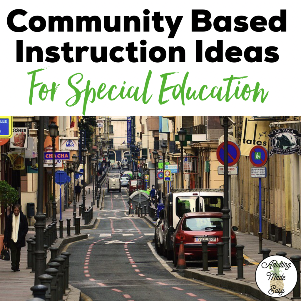 Community Based Instruction Is Such A Valuable Learning