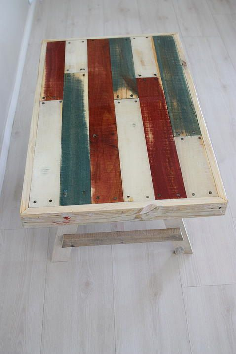 RECLAIMED PALLET TABLE by TostiDesign on Etsy