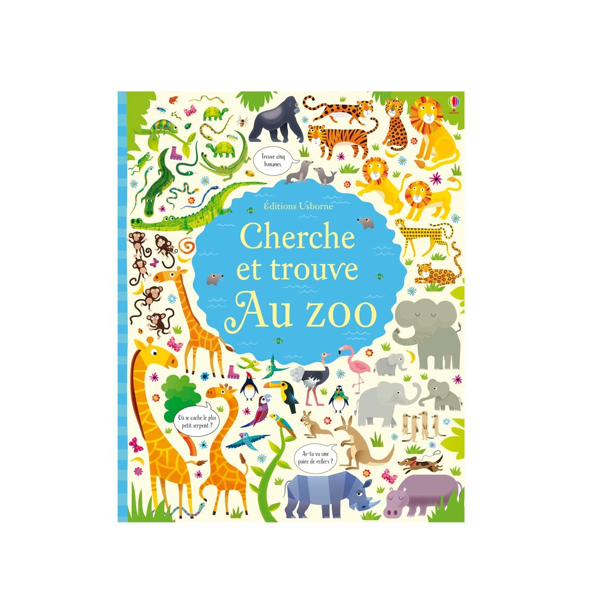 Livre Cherche Et Trouve Le Zoo Pour Enfant De 3 Ans A 6 Ans