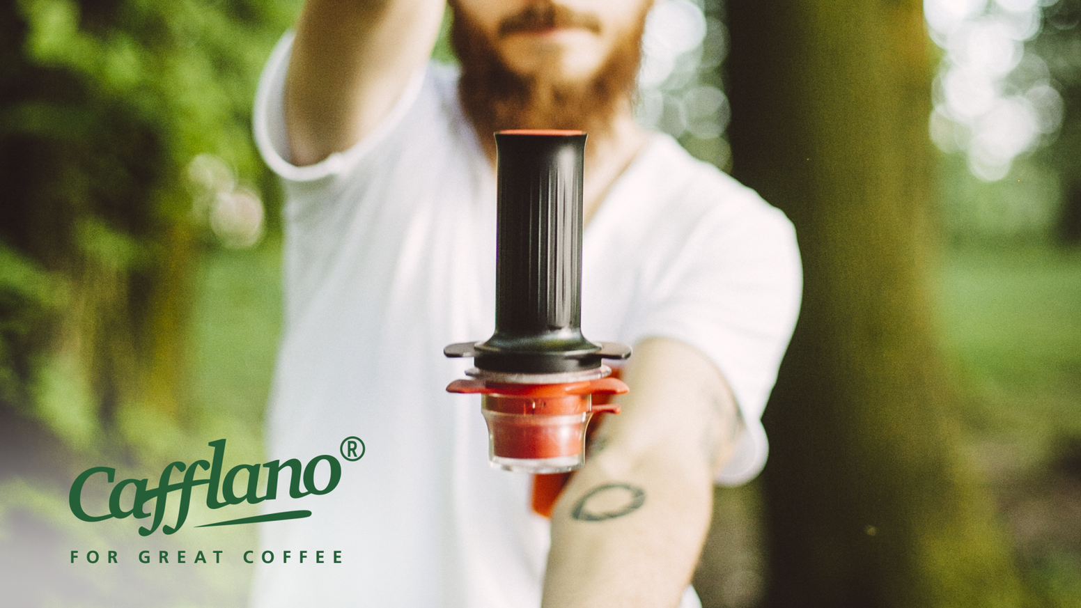 Cafflano Kompresso Espresso maker, Commercial espresso