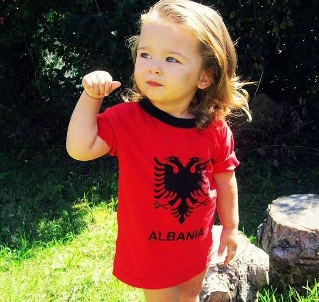 Little Albanian girl ''The children of Albania''