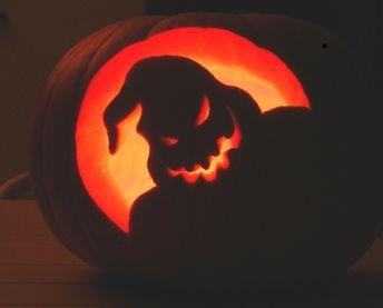 Oogie Boogie Jack O Lantern This Is Halloween Pinterest