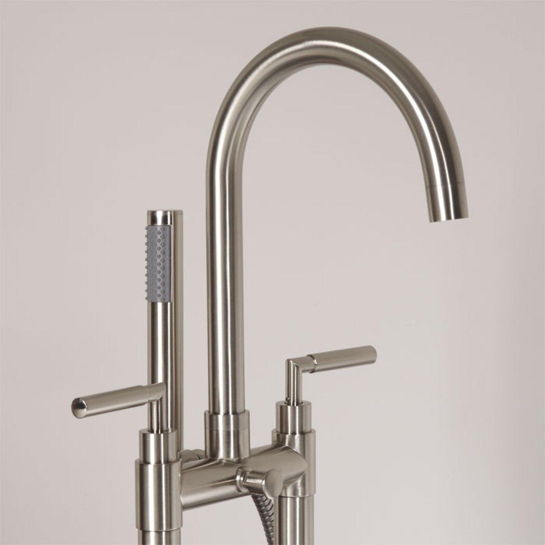 Desma Gooseneck Freestanding Tub Faucet