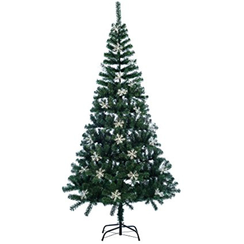 Ollypulse Artificial Eco-Friendly PVC Indoor Christmas Tree,500 Tips ...