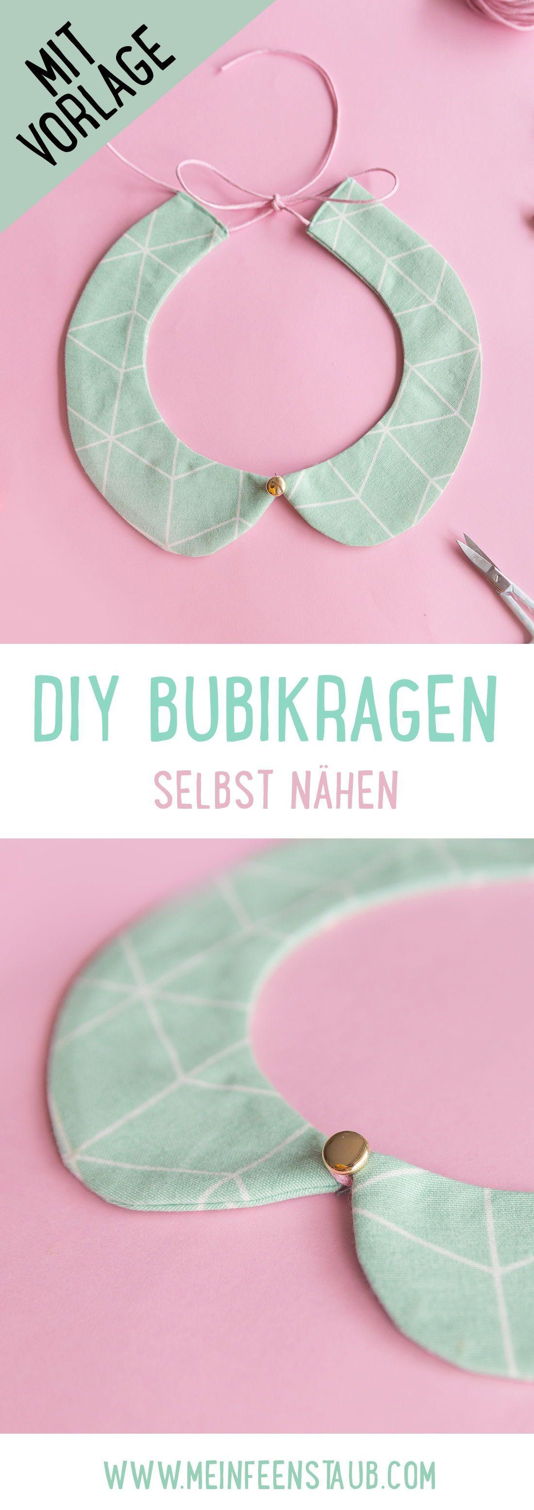 DIY: Bubikragen selbst nähen | ARD-Buffet | mein feenstaub