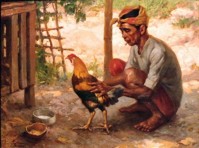 1000+ images about fernando amorsolo on Pinterest | Oil on canvas ...