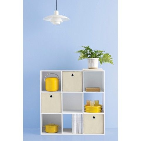 9 Cube Organizer Shelf White 11 Room Essentials Room
