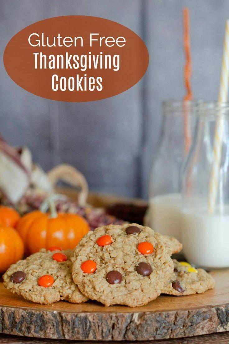 Easy Gluten Free Thanksgiving Cookies Recipe