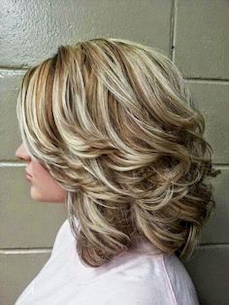 Long Hairstyle Ideas Charming For Women 50s 26 | Medium length hair styles,  Medium hair styles, Hair styles