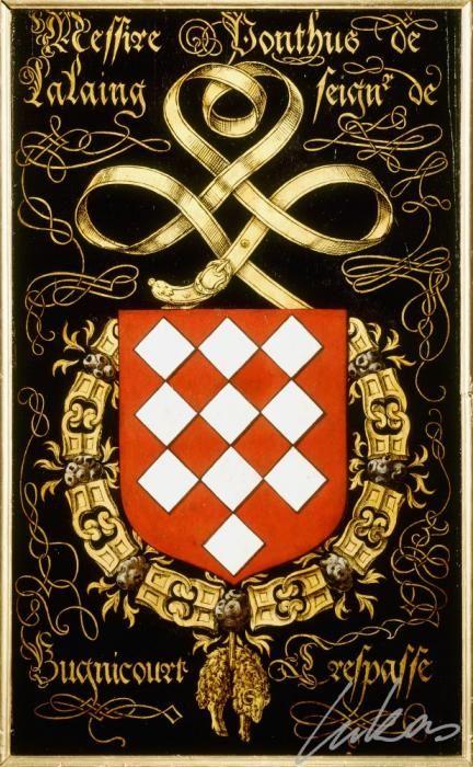 """(203) Ponthus de LALAING, sgr de Bugnicourt (ca1508-1558) -- """"Messire Ponthus de…"""