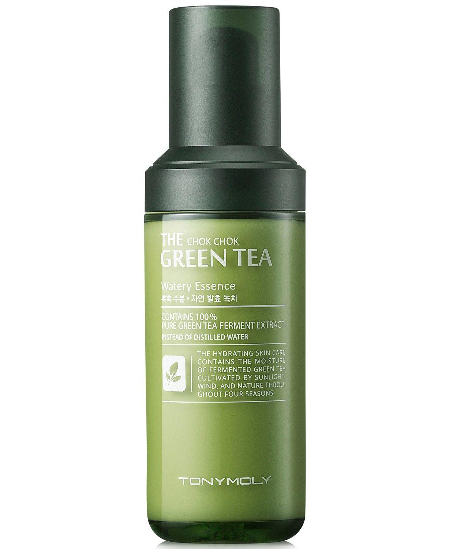 Tonymoly The Chok Chok Green Tea Watery Essence Reviews Skin Care Beauty Macy S In 2020 Beauty Skin Care Hydrating Skin Care Skin Care