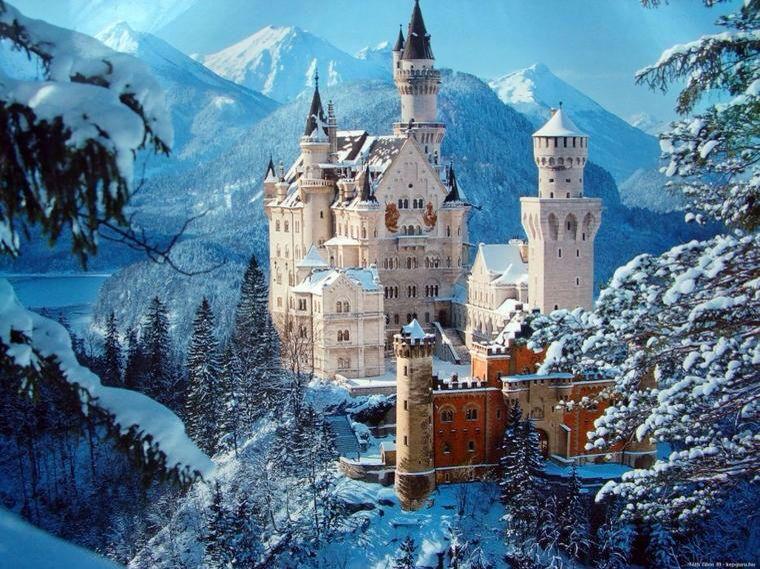 Connu Château de Neuschwanstein - Louis II de Bavière (Walt Disney, La  RQ35