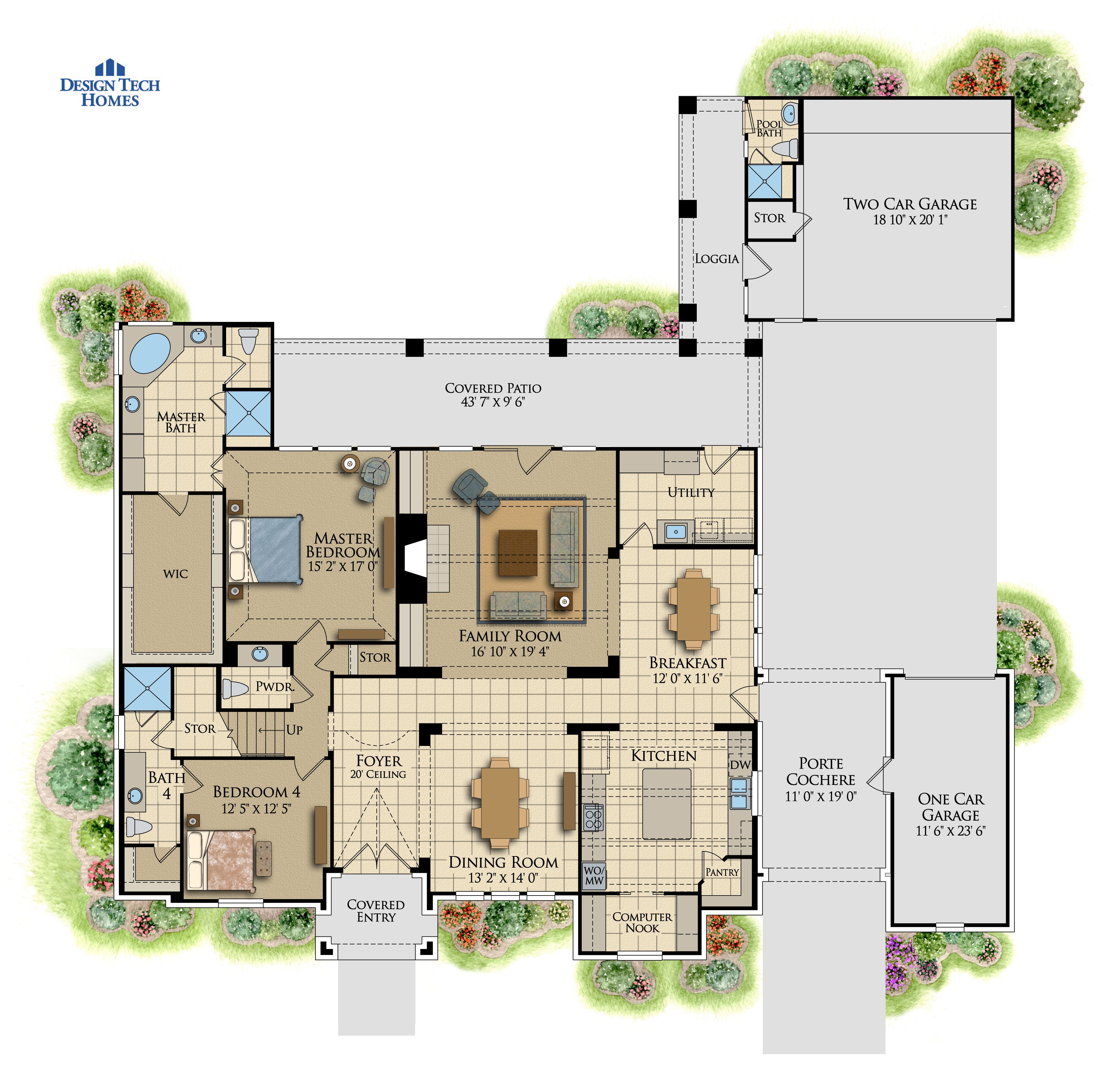 The Calais Design Tech Homes House Plans In Law Suite