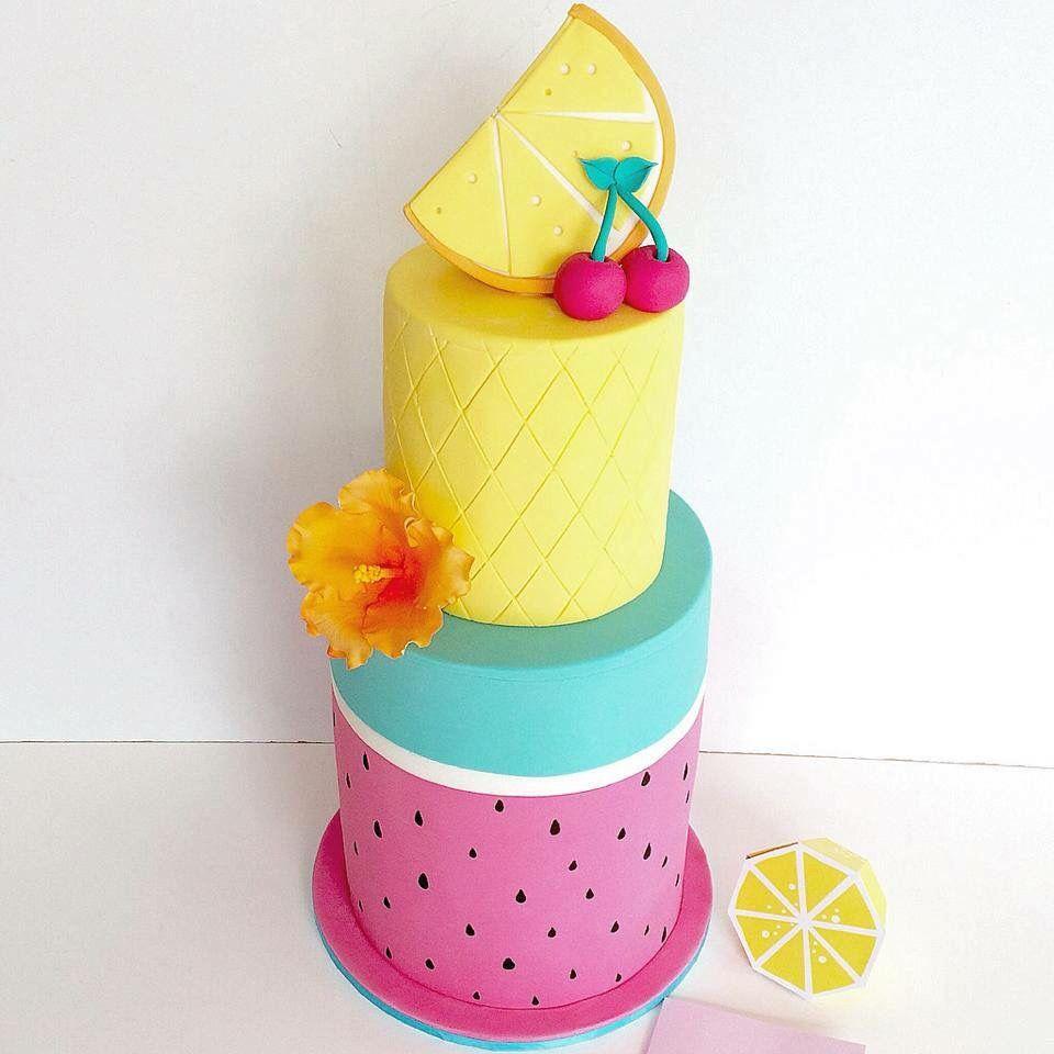Tutti Frutti Cake or Summertime Cake