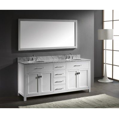 Caroline White 72 inch Bathroom Vanity $1,659 @ Kitchen and Bath ...