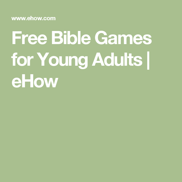 for adult bible game Free