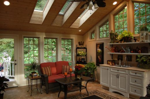 4 Season Sunroom Decor
