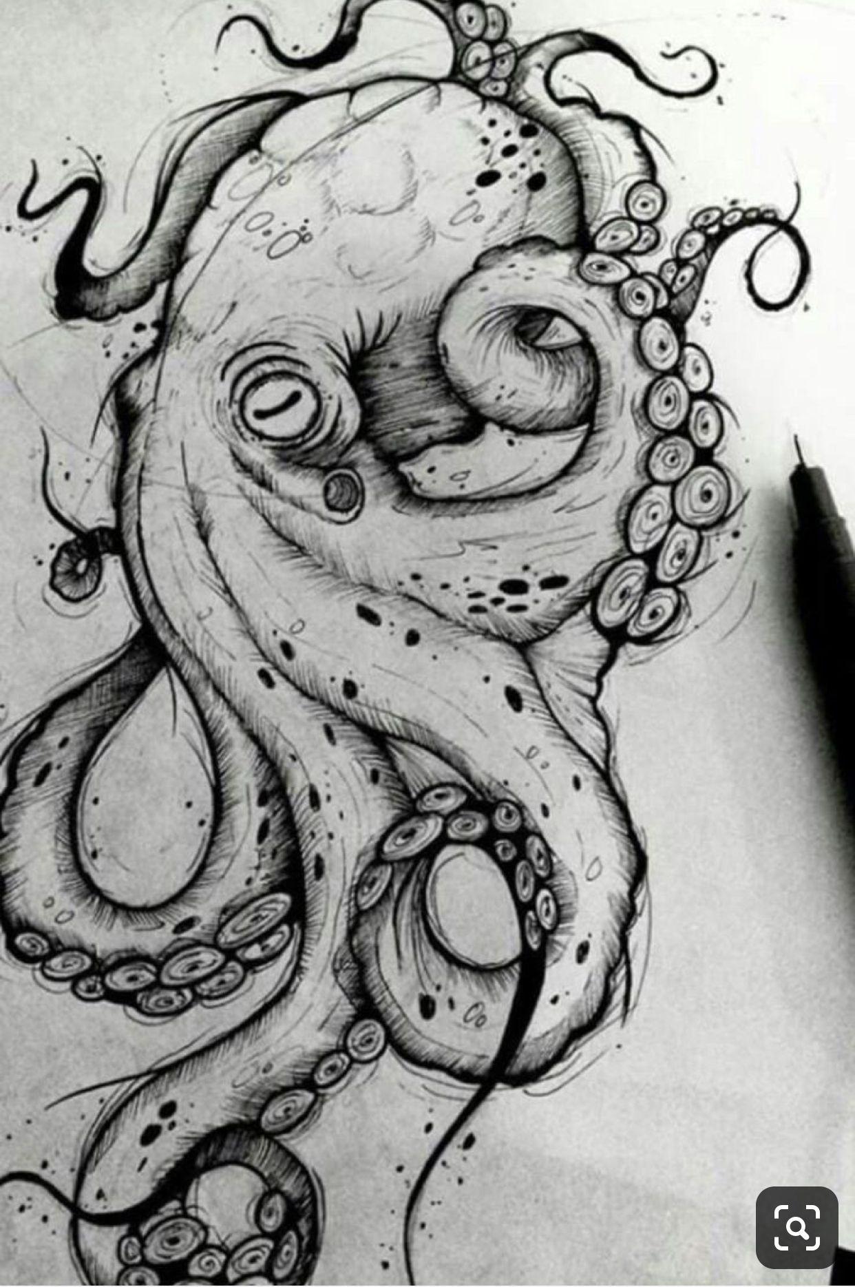 Octopustattoolegkraken In 2020 Octopus Tattoo Design Octopus Drawing Octopus Tattoo