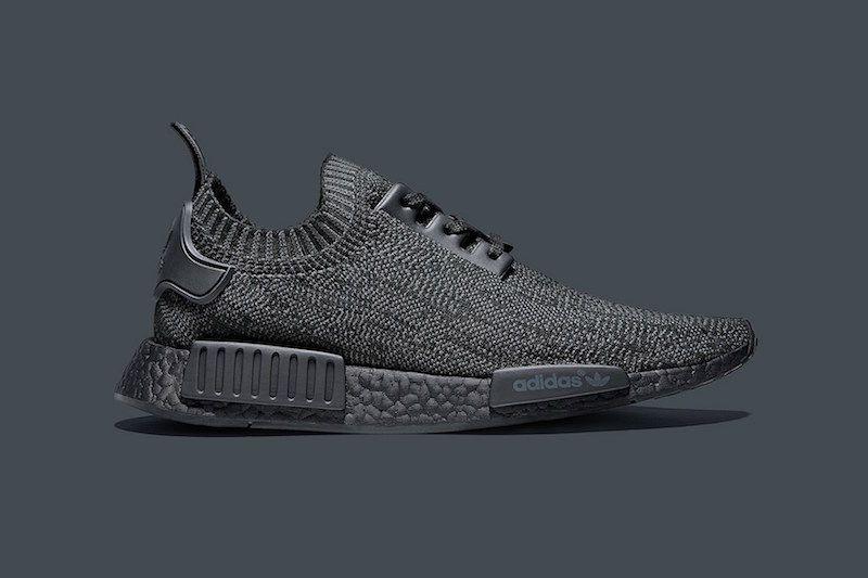 7b16f8a47319b Pitch Black adidas NMD R1 Primeknit - Sneaker Bar Detroit
