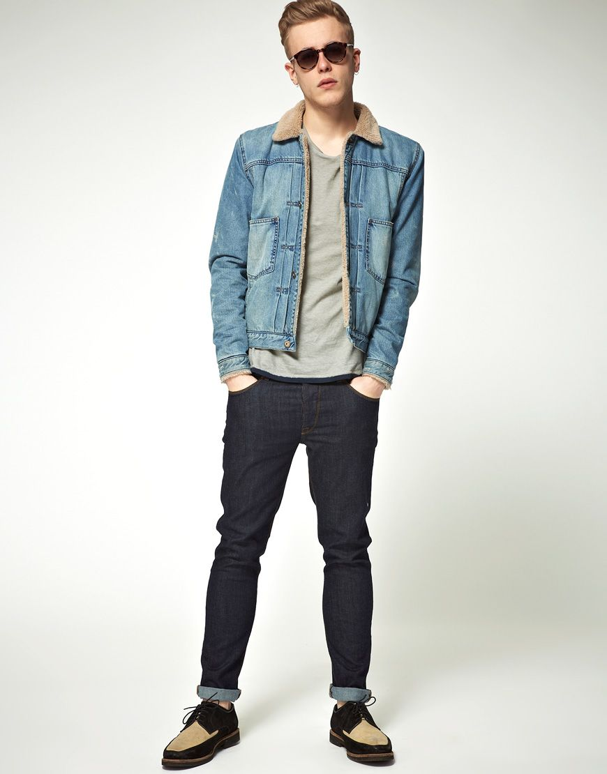 1000  images about DENIM JACKET: HOW TO WEAR on Pinterest | Men ...