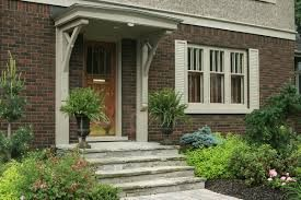 adding an exterior front awning to a bungalow - Google Search