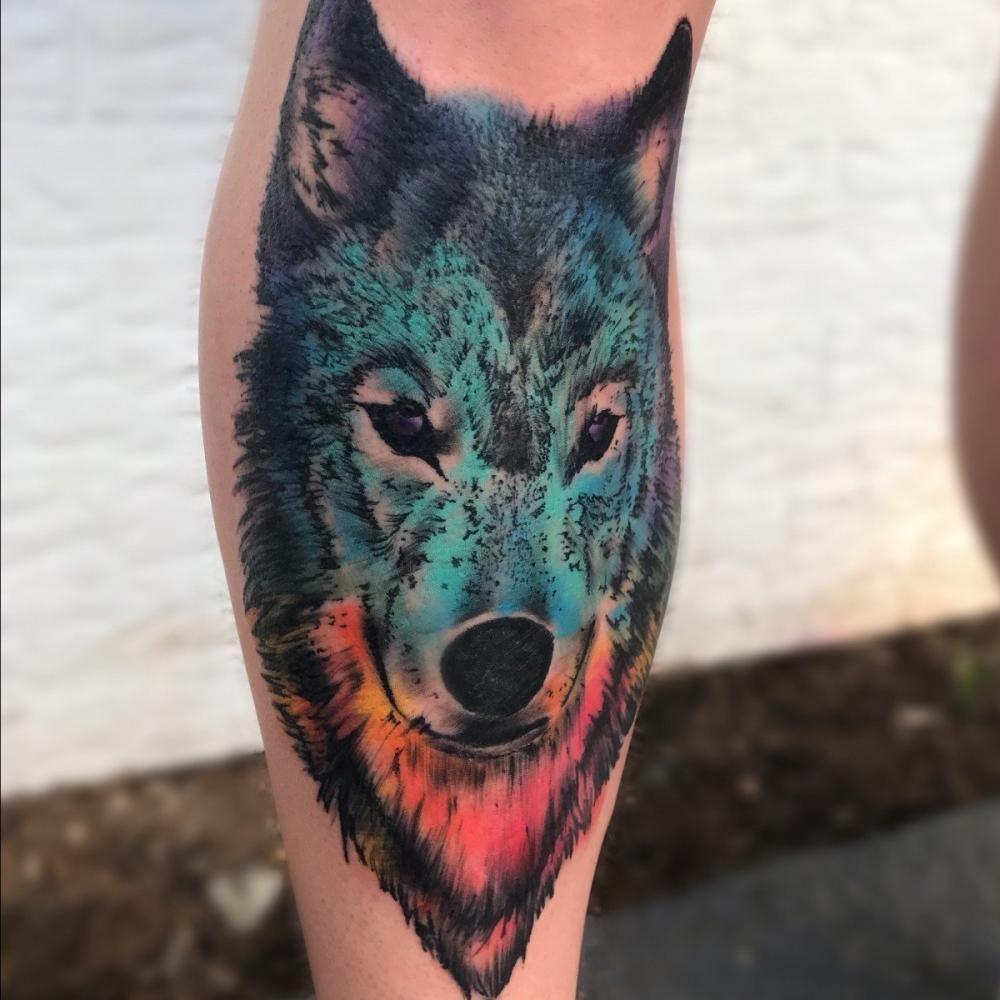 Jlynn attaway bossier city tattoo artist watercolor