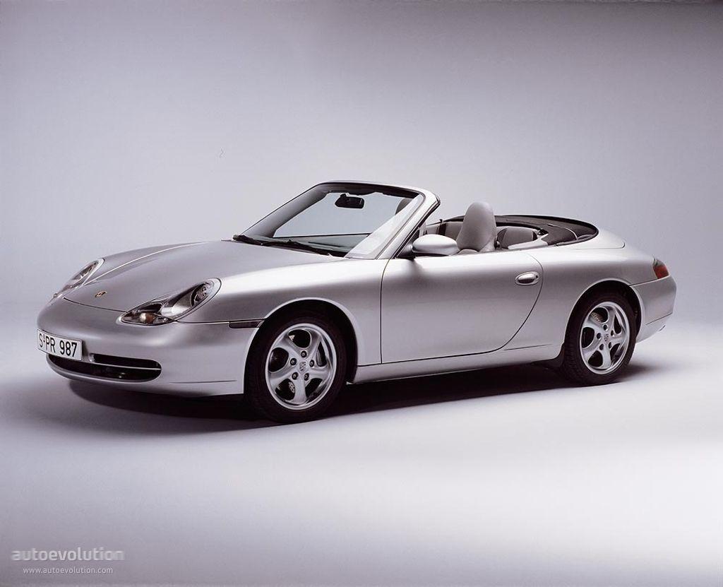 Porsche 911 carrera cabriolet 996