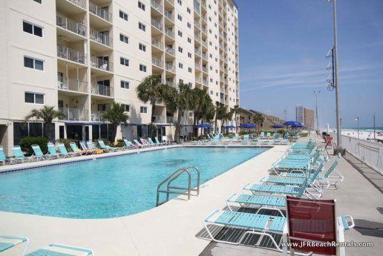 Regency Towers 708 Panama City Beach Florida Super Nice 2 Bedroom Condo With Tiled Wal Beach Condo Rentals Panama City Beach Florida Florida Vacation Rentals