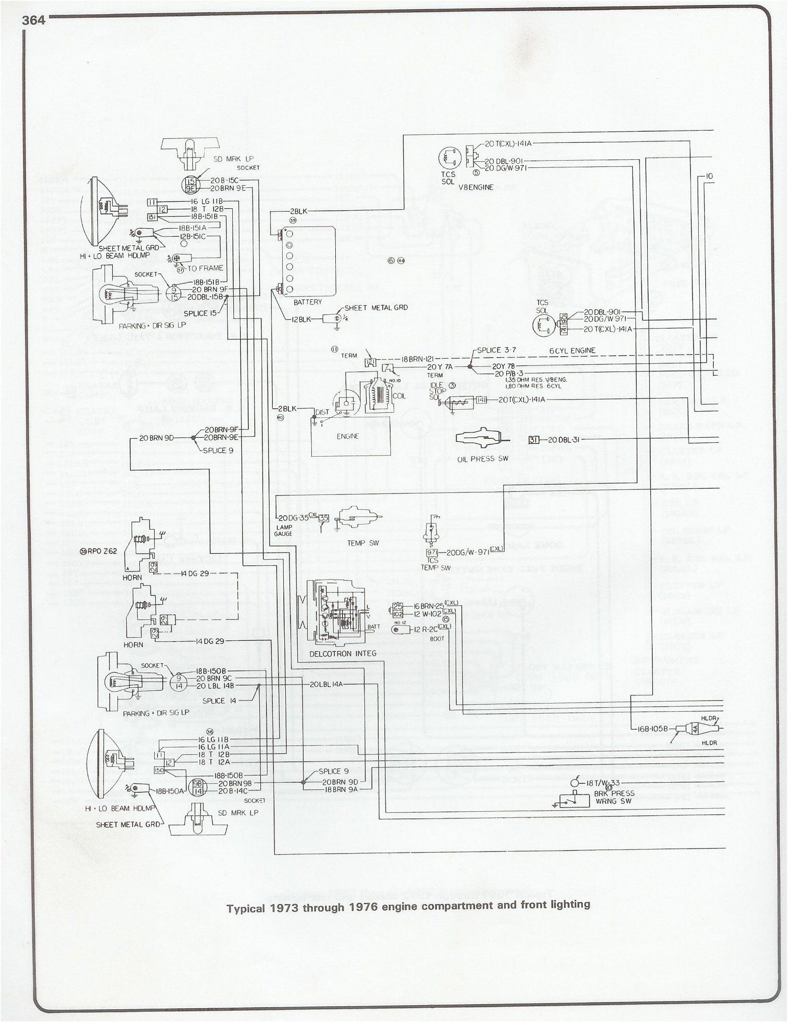 Wiring Diagram 1973 1976 Chevy Pickup Chevy Wiring Diagram 1976 Chevy Truck 1973 Chevy Truck Chevy Pickups