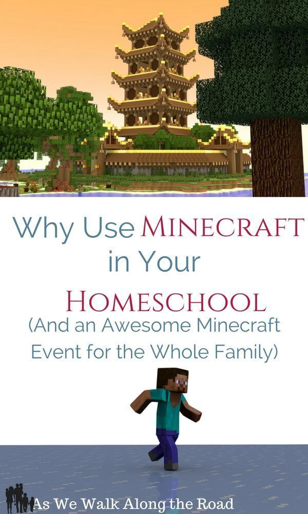 Why Use Minecraft in Your Homeschool...And an Awesome