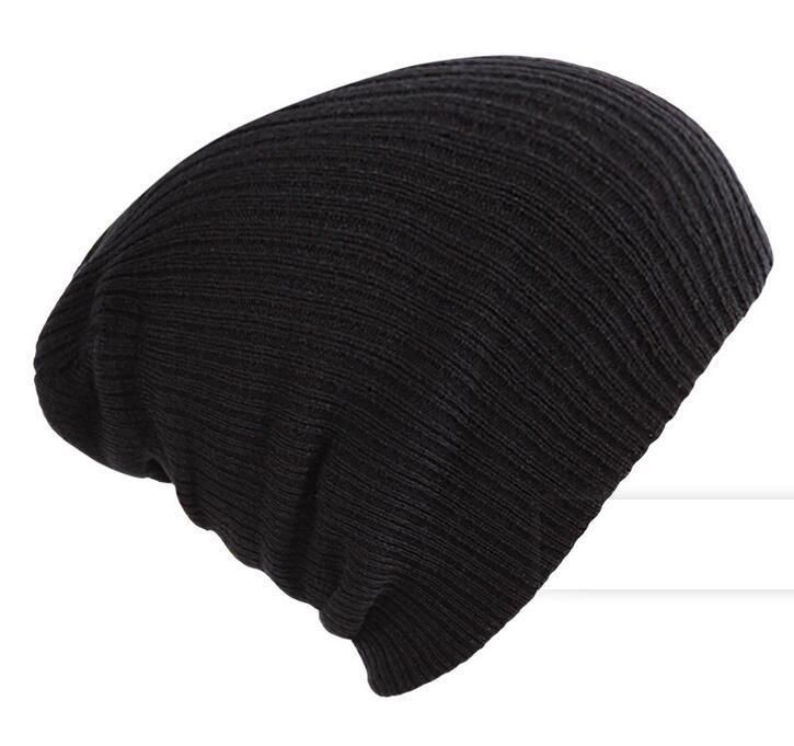 f9ab14bf746 NEW Men Women Black Fashion Knit Baggy Beanie Oversize Winter Hat Ski Cap   fashion  clothing  shoes  accessories  mensaccessories  hats (ebay link)