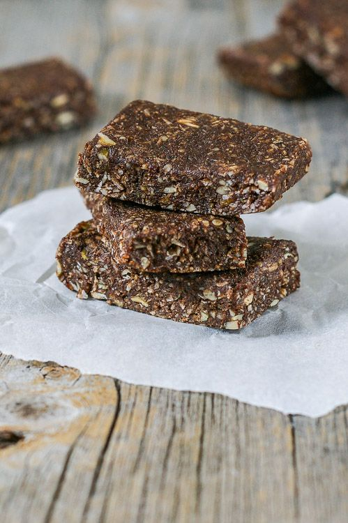 Hemp Protein Date Bars Clean Eating Recipes Healthy