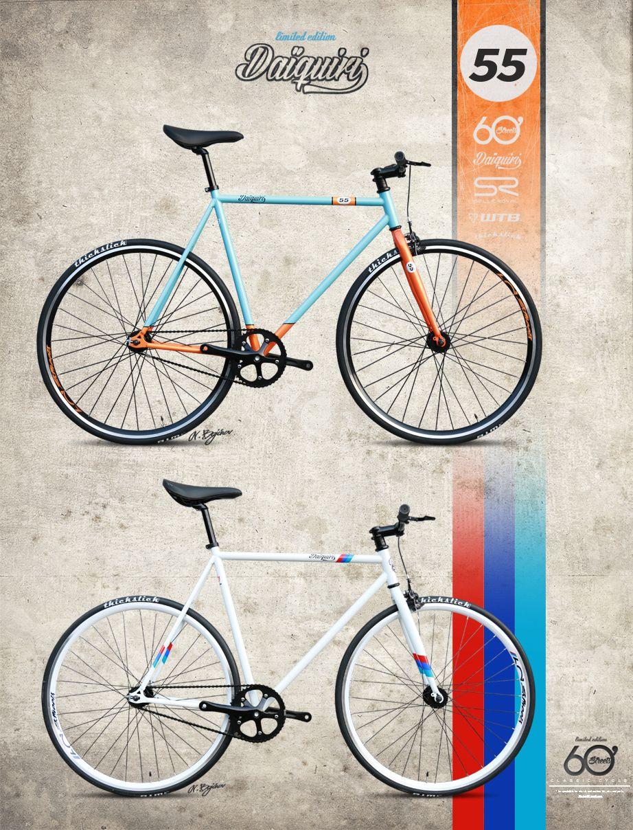 60streets Daiquiri Limited Edition Gulf Fixie Fixie Bikes Fixed