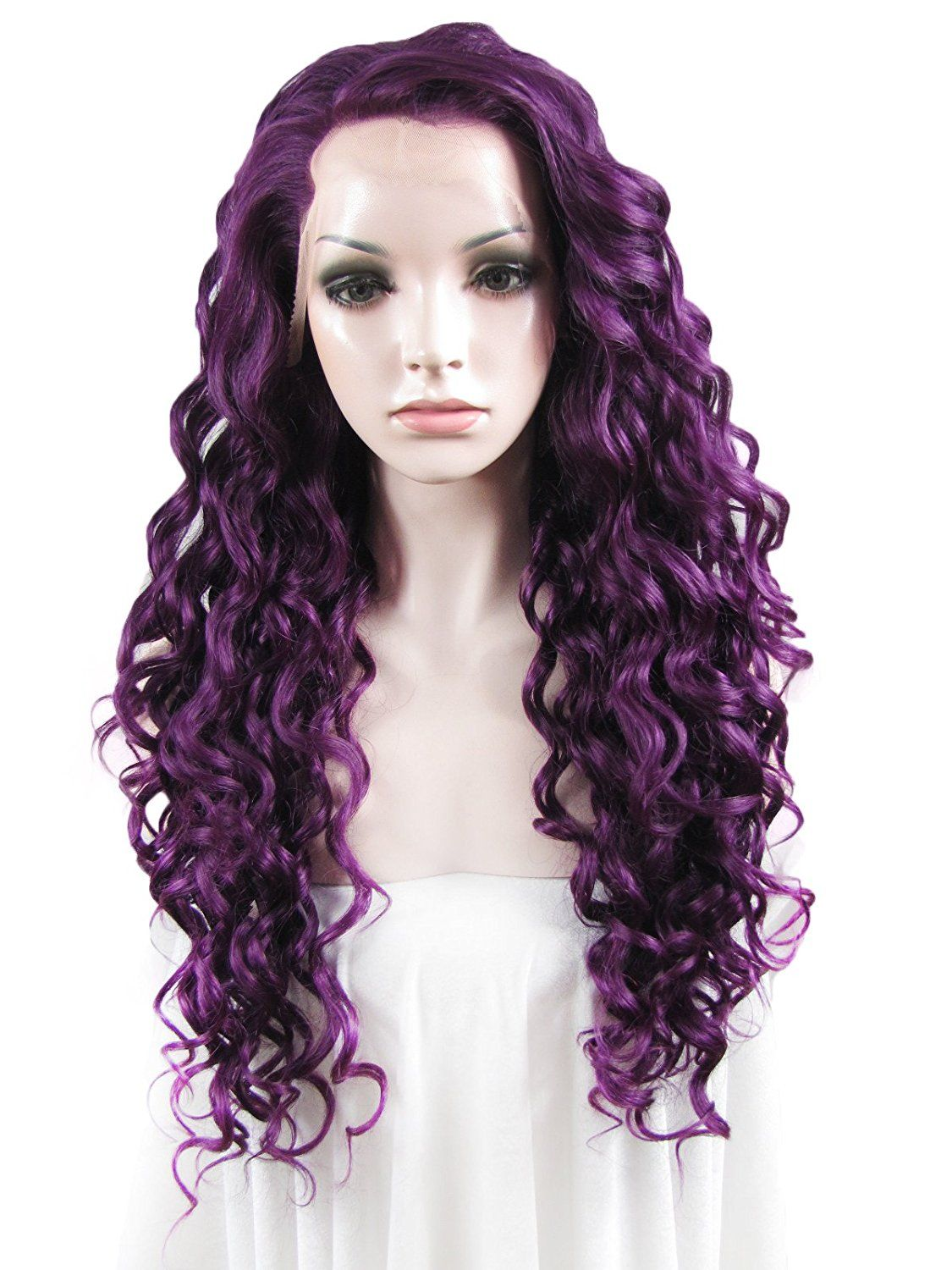 Imstyle Romantic Hairstyle Long Curly Wig Christmas Party